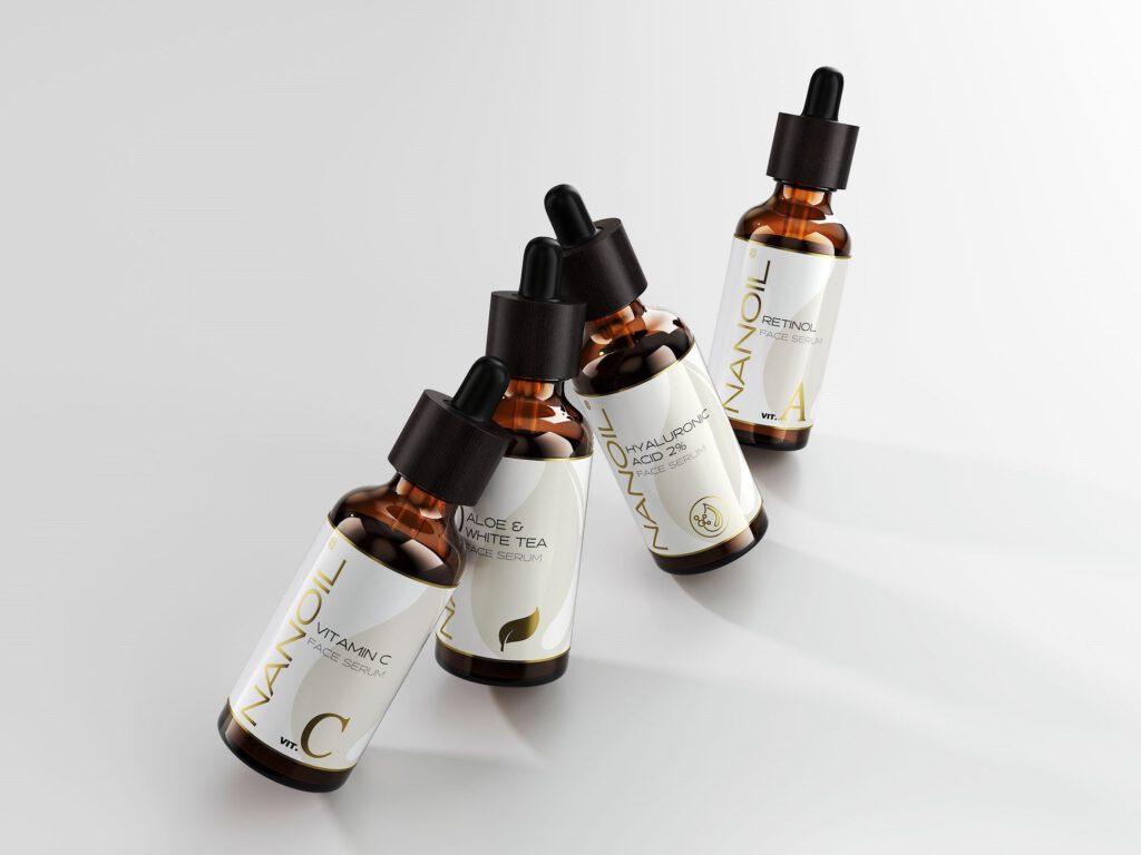 Serum przeciwzmarszczkowe nanoil z witaminą C