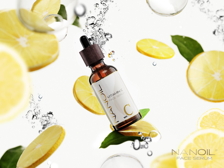 nanoil z witaminą C serum przeciwzmarszczkowe